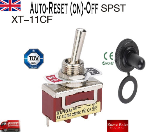 15A 250VAC 2 Pins  SPST ON-OFF Toggle Switch XT-11A XURUI High Quality