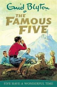 Famous-Five-11-Five-Have-A-Wonderful-Time-Blyton-Enid-Used-Excellent-Book