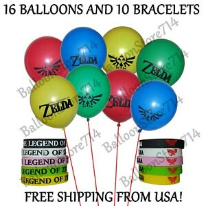 Details About 10 Bracelets And 16 Balloons