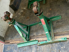 2x Greenlee 656 28 46 Ratchet Type Reel Jack Stand Tugger Puller Cable Wire
