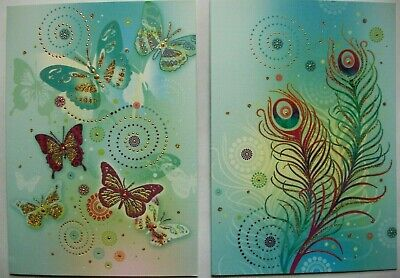 Vtg New WIZARD Mystical GREETING CARD  w// envleope  MYLES PINKNEY 7x5