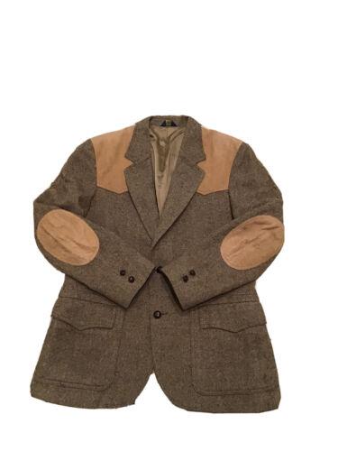 VTG Pendleton Woolen Mills Herringbone Wool Suede