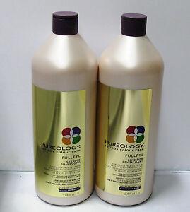 Pureology-Fullfyl-Shampoo-amp-Conditioner-Liter-Set-Duo-33-8-oz-Density-Texture