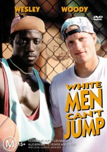 1 of 1 - White Men Can't Jump - DVD LIKE NEW FREE POSTAGE AUSTRALIA REGION 4