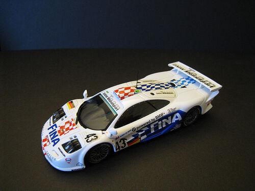 Minichamps McLaren F1 GTR Bmw 1997 1 43 Kox   Ravaglia   Helary 24h Le Mans