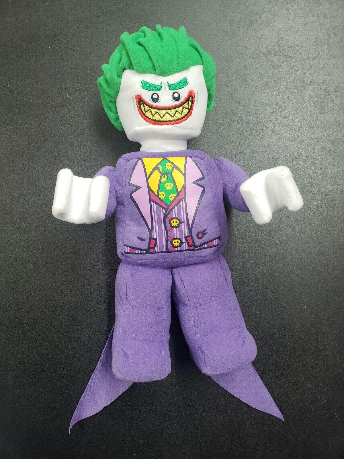 THE LEGO BATMAN MOVIE The Joker Minifigure Plush 853660 - Super Rare