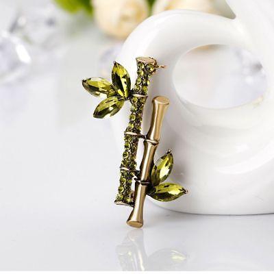 Venta Caliente Mujeres Niña Encanto De Bambú Pin Broche De