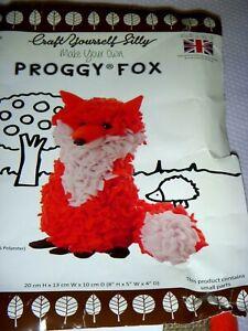 Proggy Fox Rag Rug Kit By Craft