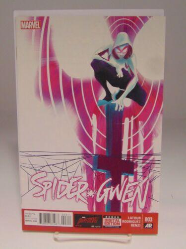SPIDER-GWEN #3 003 MARVEL COMICS VF//NM CB1000