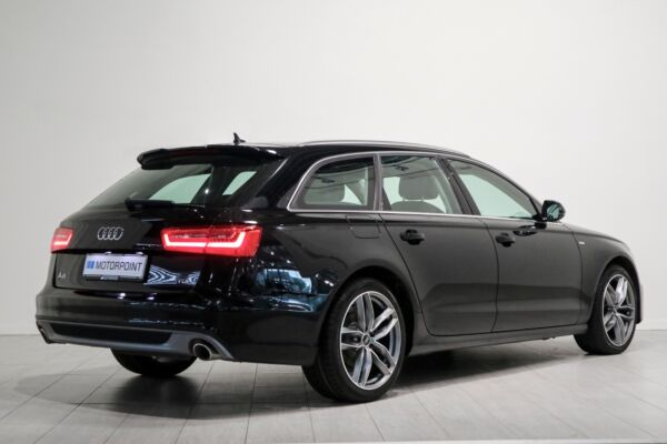 Audi A6 3,0 TDi 204 S-line Avant Multitr. - billede 2