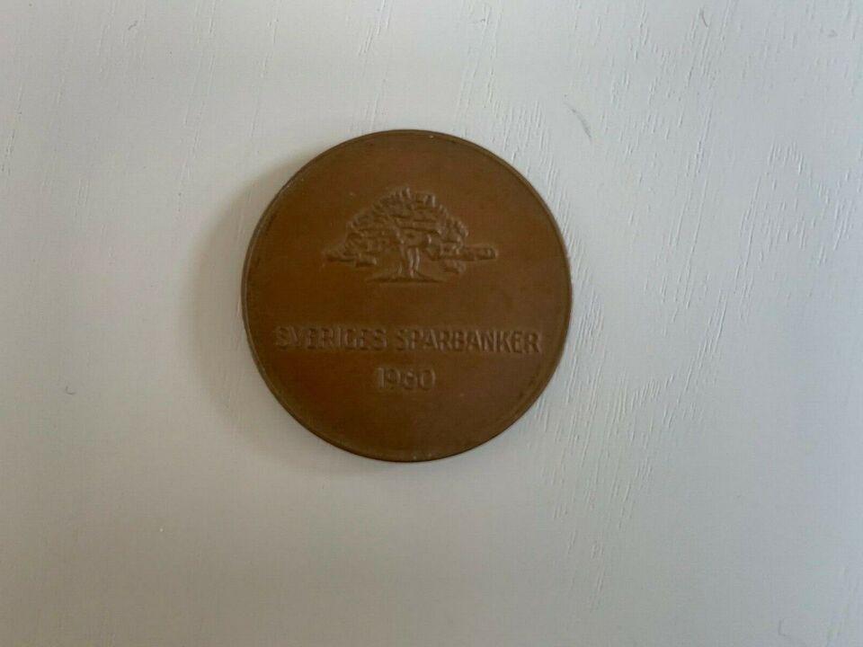 Skandinavien, mønter, jubilæumsmønt