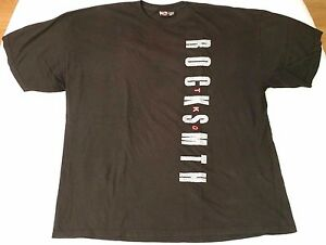 4e407843d7372c Rocksmith TKO graphic t-shirt men sz 2XL black cement infra red