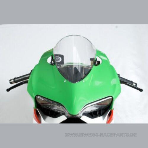 R&G Fußrastenabdeckung Kawasaki Ninja 250 300 2013 Foot Rest Blanking Plate Sonstige Motorräder