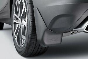 Black Molded Mud Flaps GM New # 14-18 GMC Sierra Splash Guards Front /& Rear