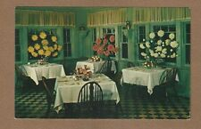 Santa Maria,CA California, Santa Maria Inn Dining Room large Floral Pots