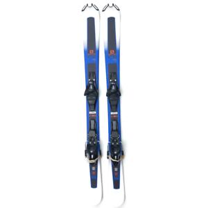 Salomon XDR 125cm perímetro corto esquís Snowblades W. Fijaciones Salomon 2019