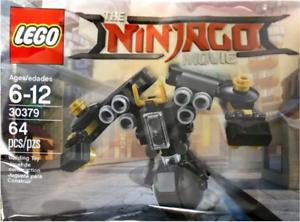 30379 Quake Mech - The Ninjago Movie Rare Polybag 2017 Brand New Lego
