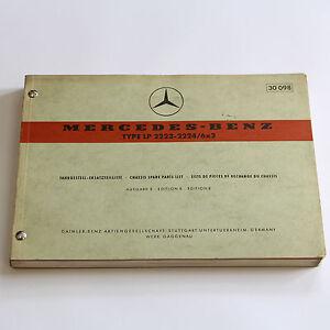 Mercedes-LP2223-LP2224-6x2-BM335-Ersatzteilliste-Ersatzteilkatlog-1969