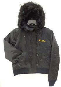 8c27a29e Details about Washington Redskins Women's Medium Full Zip Nylon Box Twill  Parka Jacket 753