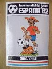 1982 COPA MUNDIAL DEL FUTBOL STICKER- CHILE/ CHILE- ESPANA 82 (12x8 cm)