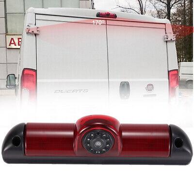 """HD Rückfahrkamera+4,3/"""" Rückspiegel Monitor für Van Fiat Ducato Bremsleuchte Dodg"""