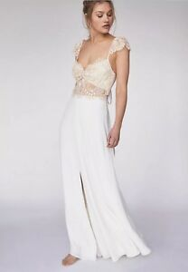 Free People Wedding Dress.Details About New 550 Free People Limited Edition Nikki S Wedding Dress Size 4
