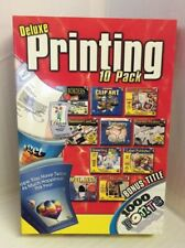 Deluxe Printing 10 Pack Software Bundle Open Box