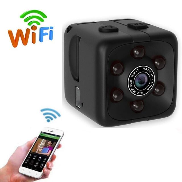 Wireless Spy Nanny Cam WiFi IP Mini DVR Pinhole Hidden DIY Digital Video Camera