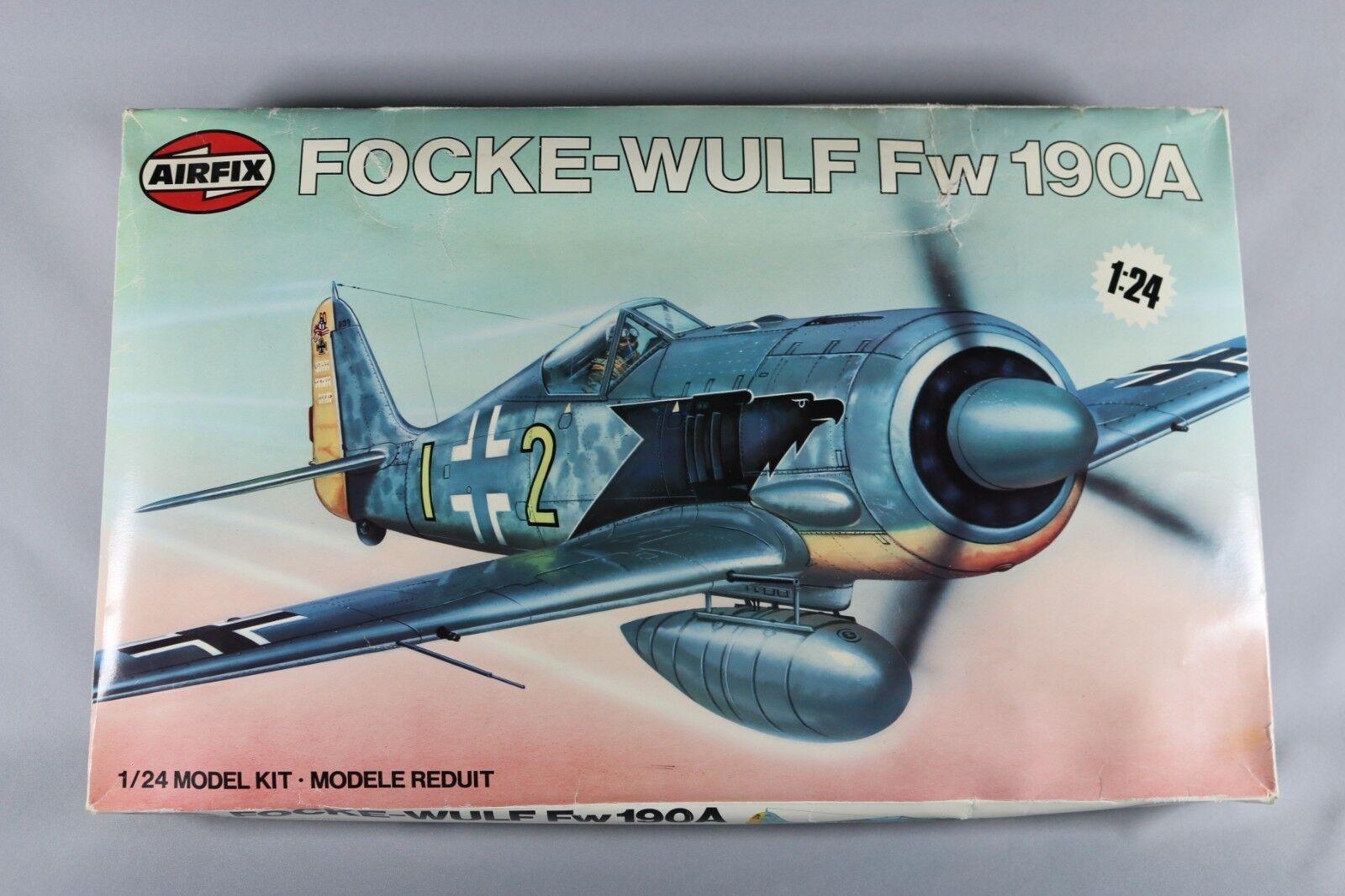 Zf822 Airfix 1 24 Maqueta Avión 16001 Focke-Wulf Fw190a
