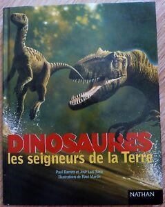 Dinosaures-les-seigneurs-de-la-Terre-Edition-Nathan-Livre-d-039-occasion