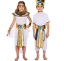 miniatuur 1 - Girl Boys Egyptian Queen King School Day Book Week Historic Fancy Dress Costumes