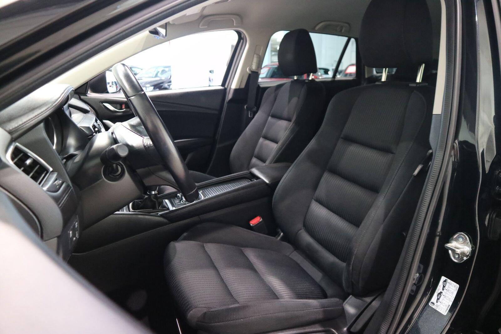 Mazda 6 2,2 SkyActiv-D 150 Vision stc. - billede 11