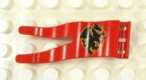Lego Duplo Item Pennant Dragon red