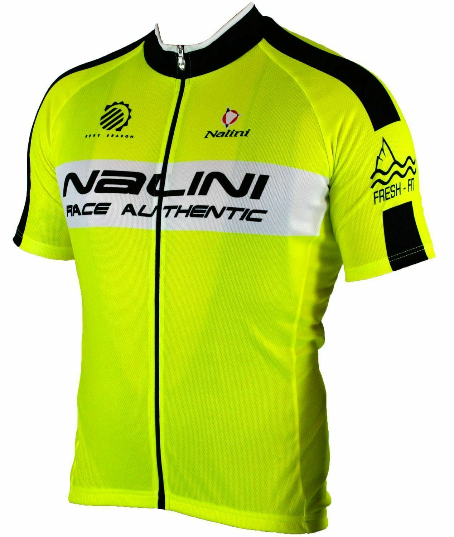 NALINI lucster ciclismo uomoICA CORTA NEON GItuttiONERO