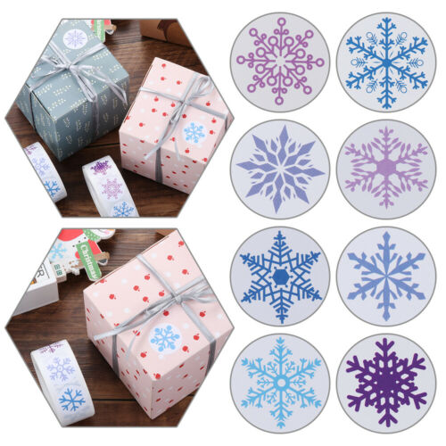 Stickers Paper Seal Labels Packing Box Sticker Christmas Labels Sticker