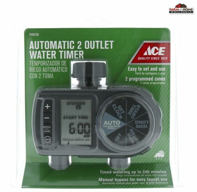 4 Ace Automatic Water Timer Hose Garden, Garden Hose Timers