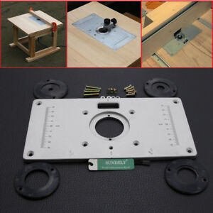 235x120x8mm aluminium alloy plunge router table insert plate ring image is loading 235x120x8mm aluminium alloy plunge router table insert plate keyboard keysfo