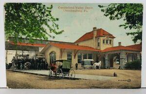 PA-Cumberland-Valley-Depot-Chambersburg-Pennsylvania-Postcard-M9
