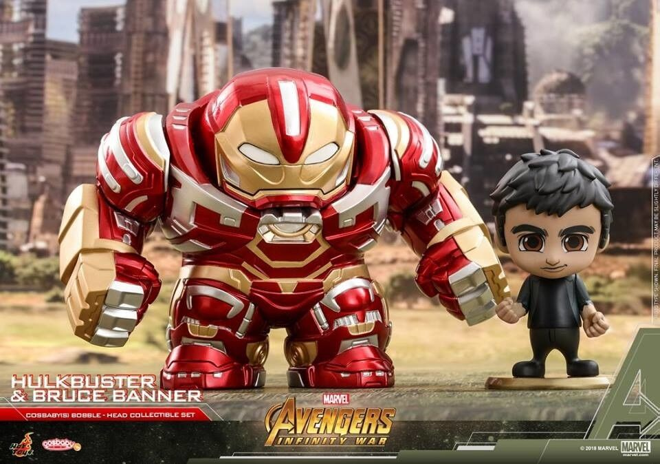 Hot Toys Avengers Infinity Wars Hulkbuster 2.0 Bruce Banner Cosbaby