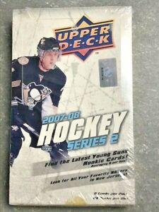 1-2007-08-Upper-Deck-Hockey-Series-2-Hobby-Box-w-YG-Young-Guns-TOEWS-RASK