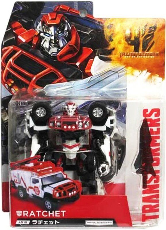 Transformers Takara Jp Ex Age of Extinction  AD15 Deluxe Autobot Ratchet