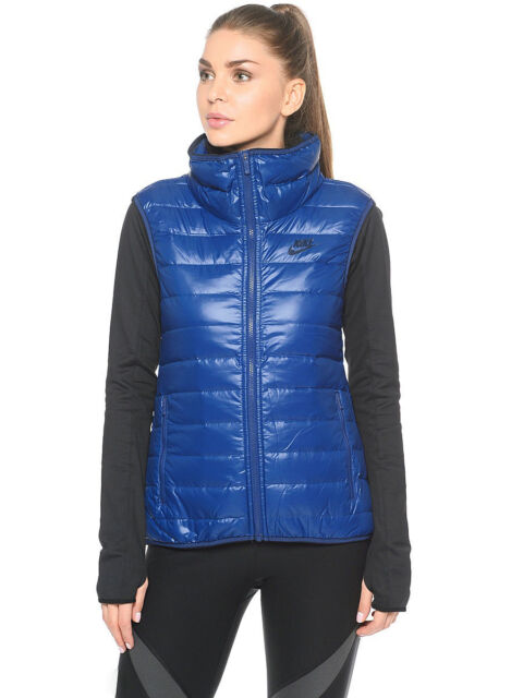 4dbcd54dfdf 805257-423 New w tag Nike Women sports wear 550 down filled vest $130