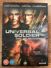 Dolph Lundgren Van Damme UNIVERSAL SOLDIER DAY OF RECKONING UK DVD w/ Slipcover