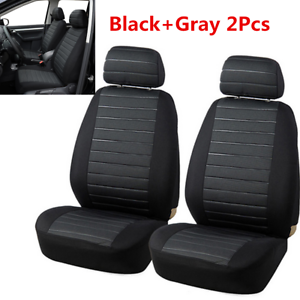 New 2PCS Van Car Seat Covers Model Car-styling Interior Accessories 5MM Foam