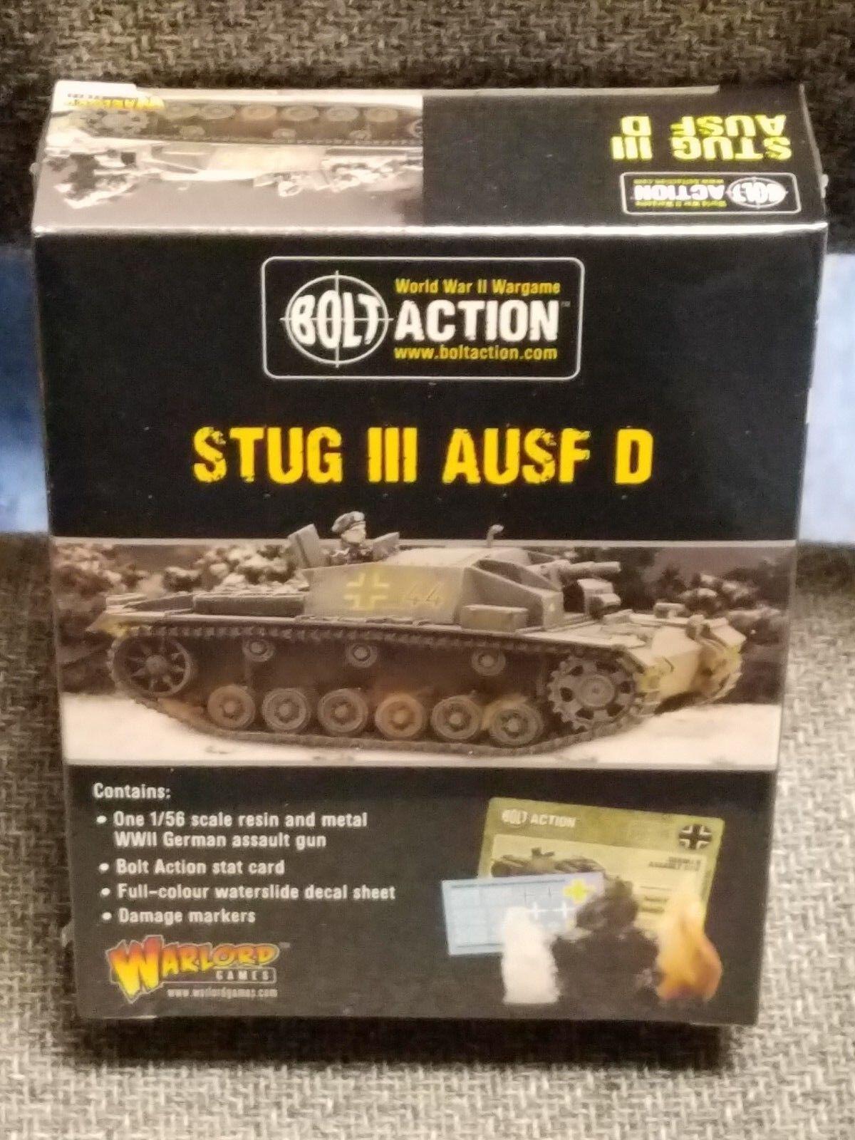 Stug Stug Stug III Ausf D Deutsch Panzerjäger Bolzen Aktion Zweiter Weltkrieg 72e03a