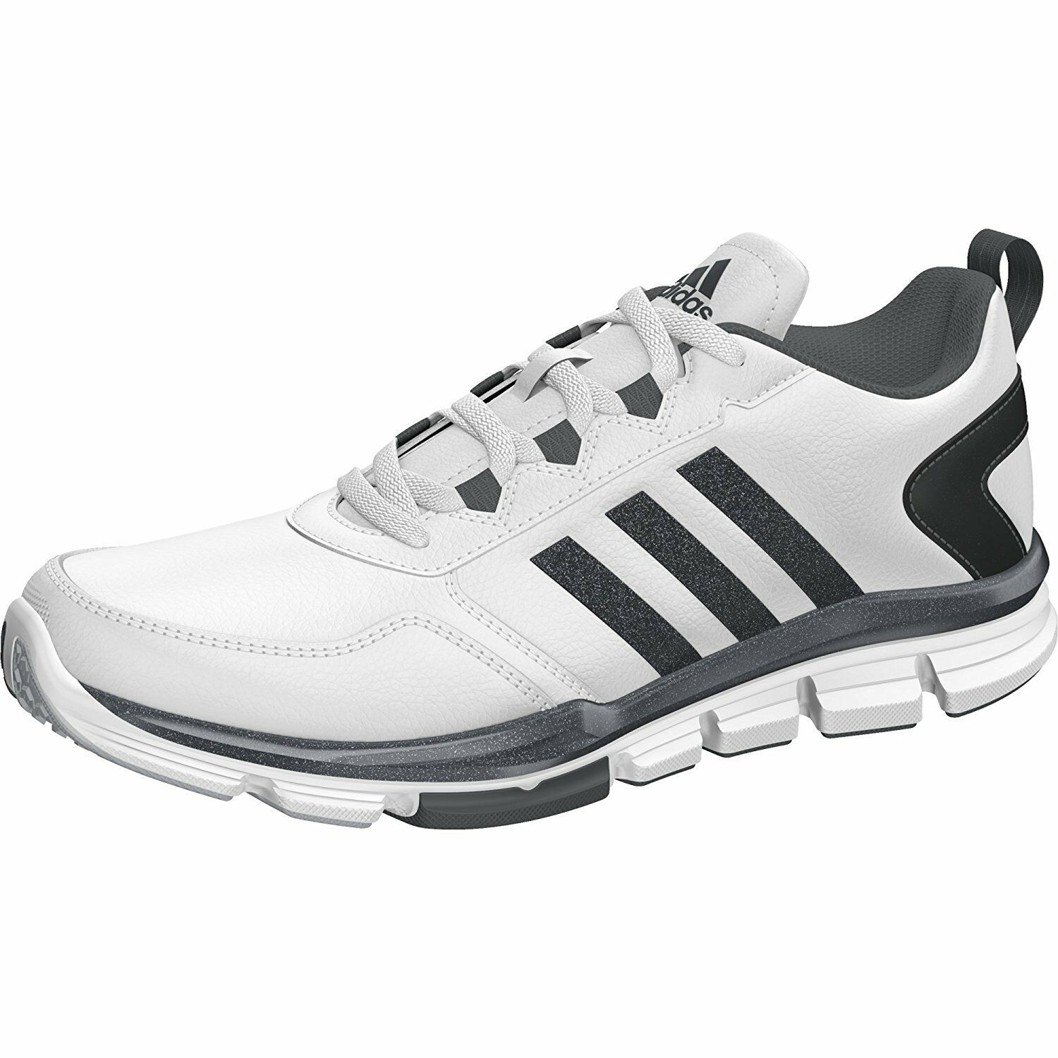 Adidas Men's Speed Trainer White/Gray 2 Athletic Shoes Size 8M White/Gray Trainer d9c44c