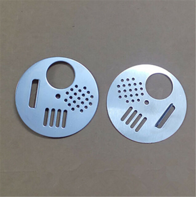 10pccs Stainless Steel Bee Hive Nuc Box Entrance Gates Beekeeping Equipment Tool