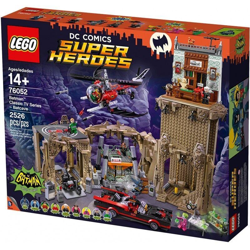 Lego 76052 Dc Tv Batman Classic Batcave 1966 Batcave Offer Box Damaged