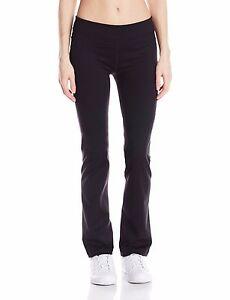 New-Calvin-Klein-Performance-Women-039-s-Stretch-Yoga-Bootleg-Pants-PF5P7776-Black