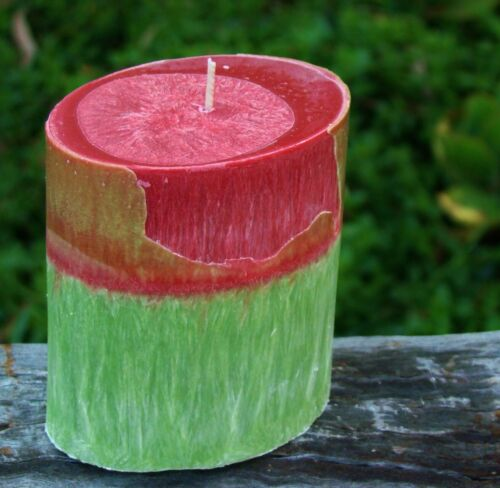 80hr AUSTRALIAN LILLY PILLY Floral Scented OVAL CANDLE FREE SHIPPING POSTAGE